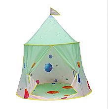 ZJHGQ Kids Space Themed Play Tent Space Rocket