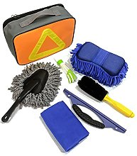 ZJJX 7pcs Car Washing Tools Cleaning Tools Kit,