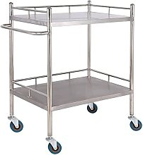 ZJJZ Stainless Steel Medical Surgical Trolley,