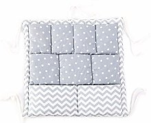 ZJL220 Bed Hanging Storage Bag Baby Cot Cotton