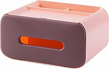 ZJMIQT Tissue Box,Creative Plastic Multifunctional