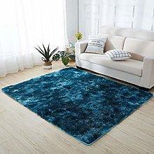 ZJXSNEH Fluffy Soft Carpet, Non Slip Emulsion