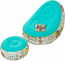 Zjyfyfyf Inflatable Lazy Sofa Family Lounge Chair