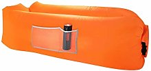 Zjyfyfyf Inflatable Lounger Waterproof Inflatable
