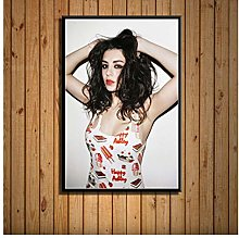 ZJYWYCN Poster Popular Music Singer Star Charli