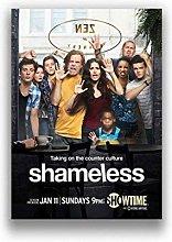ZJYWYCN Poster Tv Series Shameless Movie Classic