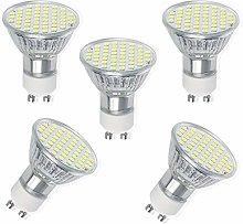 ZJYX GU10 LED Light Bulbs, 80W Halogen Bulb