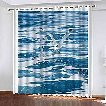 ZJZWLW Blackout Thermal Insulated Curtain For