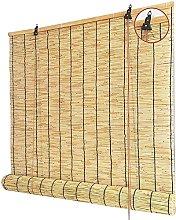ZKORN Natural Reed Curtain,Vintage Bamboo