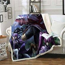 ZKPYZ Blankets Akame ga Kill Blanket Baby Children