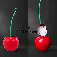ZLEW Cherry Shaped Toilet Brush Holder Set