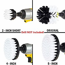 ZLIJUN Drill Brush - Leather Cleaner - Car Wash