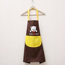 Zljljlj 1Pcs Striped Waterproof Polyester Apron