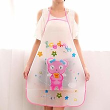 Zljljlj 1PCS Waterproof PVC Apron Women Adult Home