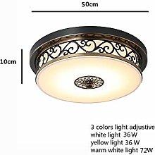 ZLL Home Bedroom Ceiling Light,Led Hollow Carved