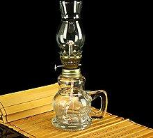 ZLLOO Oil Lamp Vintage Style kerosene lamp Indoor