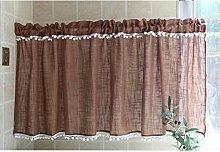 Zlovne Cafe Curtain Small Curtain for