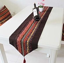 ZLP Chinese Linen Table Banner Bedside Banner