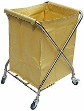 ZLP Hotel Laundry Sorter Cart Linen Trolley,