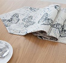 ZLP Linen Cloth Table Flags Home Decoration Bed