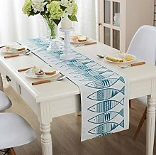 ZLP Linen Home Decoration Table Flag Dustproof and
