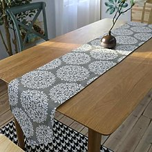 ZLP Linen Table Banner Home Decoration Bed