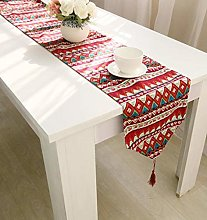 ZLP Linen Table Flag Home Decoration Tablecloth