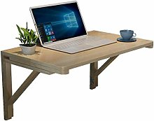 ZLP Table Solid Wood Folding Table Computer Desk