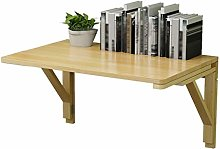 ZLP Table Wall-Mounted Folding Table Solid Wood