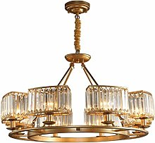 zlw-shop Chandelier Crystal Light Luxury