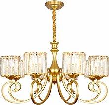zlw-shop Chandelier Golden Lamp Body Chandelier