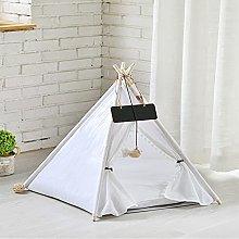 zlw-shop Pet Bed Portable Linen Pet Tent Dog House