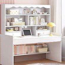 zlw-shop Tables Children's Desk With Bookshelf