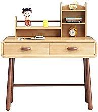 zlw-shop Tables Home Study Desk Bedroom Bookshelf