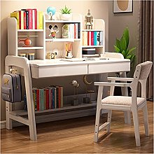 zlw-shop Tables Study Desk With Bookshelf Primary