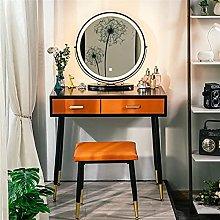 zlw-shop Vanity Desk Makeup Vanity Table Set with
