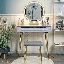 zlw-shop Vanity Desk Vanity Table Set with 3 Mode
