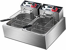 ZLYD Stainless Steel Deep Fat Fryer with Basket,