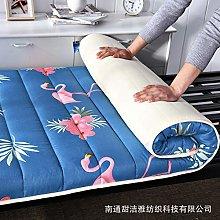 zlzty Foldable Mattress Single, Printed Washed