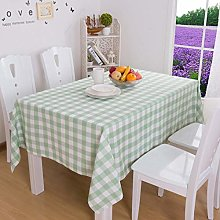 Zmdnl Plaid Table Cloth Rectangular Tablecloth