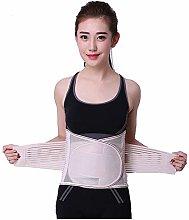 Support vertébral ZMIN, support dorsal, ceinture lombaire