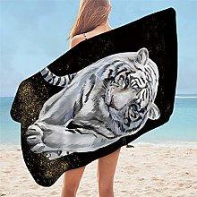 ZMK-720 Bedding Tiger Baby Bath Towel Microfiber
