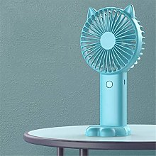 ZMXZMQ Mini Portable Handheld Electric Fan, with