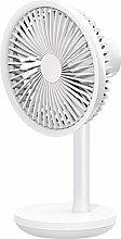 ZMXZMQ Mini Usb Desk Fan, Strong Airflow, 4000Mah