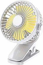 ZMXZMQ Portable Clip on Fan, 360°Adjustable Fan,