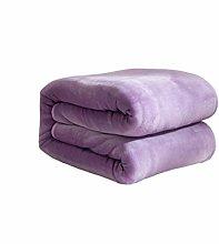 ZNBJJWCP Bed Soft Coral Fleece Fleece Blanket Faux