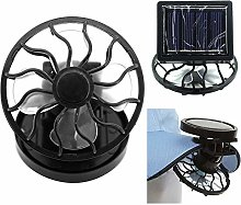 zNLIgHT Fan | Portable Electric Solar Powered