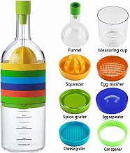 ZNOKA Multipurpose Function Kitchen Tool Bottle 8