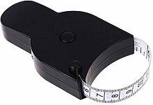 ZNQPLF 150cm Retractable Ruler Body Fat Weight