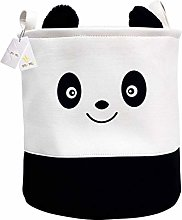 Znvmi Baby Nursery Storage Basket Foldable Laundry
